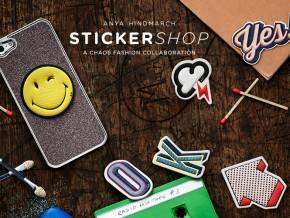 Anya Hindmarch Sticker Shop