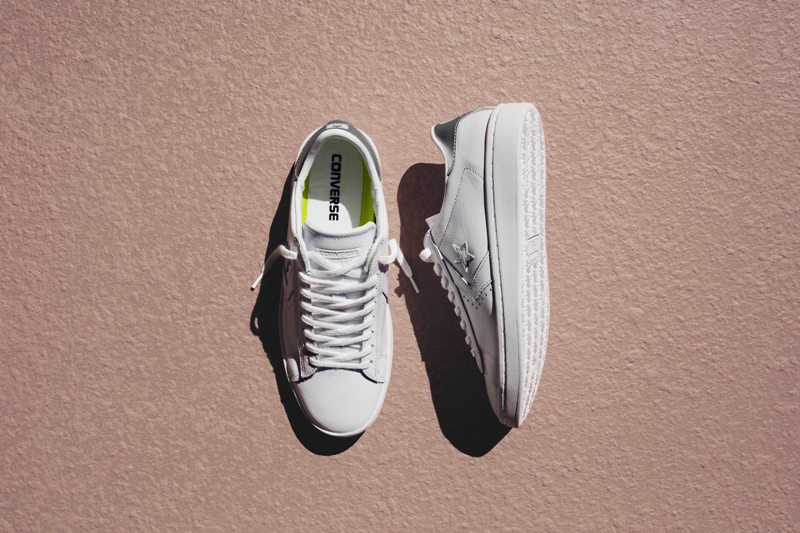 b6e4dc8442cd Converse Cons Pro Leather Sneakers  Low Profile Court Classic ...