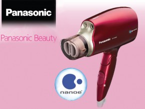 Panasonic's Beauty Line is out! Introducing: The Nano-E™ Hair Dryer