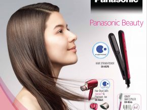 Get smooth and stylish hair with Panasonic nanoe™ Hair Straightener
