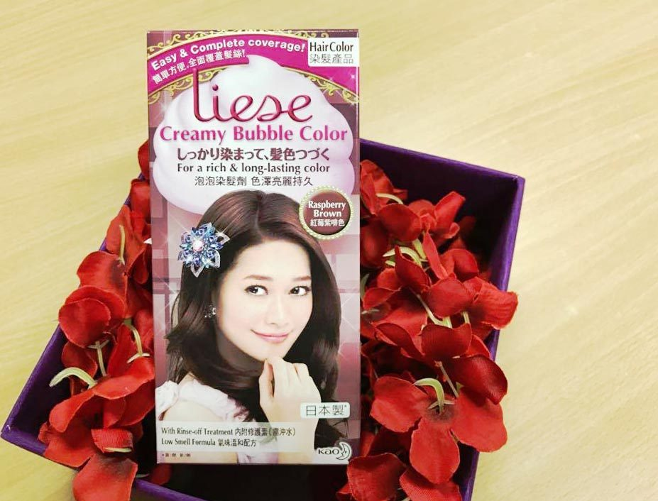Japans 1 Hair Color Brand Liese Gives Smoother And Shinier Hair