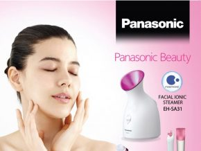 Get smooth and moisturized skin with Panasonic Facial Ionic Steamer