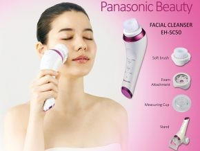 Get a 3-in-1 facial cleanser with Panasonic's Micro-Foaming Cleansing Device