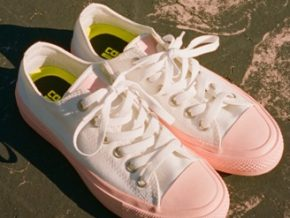 LOOK: Chuck Taylor All Star II Pastel Midsole Sneakers for Women