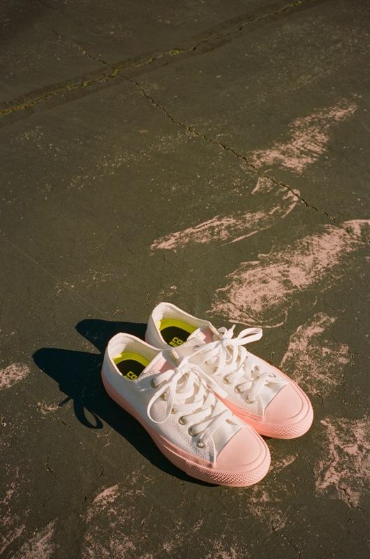 92b0efa1caa7 LOOK  Chuck Taylor All Star II Pastel Midsole Sneakers for Women ...