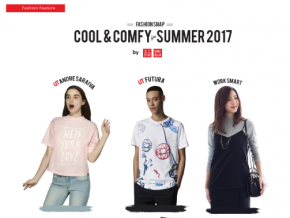Check out these Cool and Comfy clothes by UNIQLO for Summer 2017!
