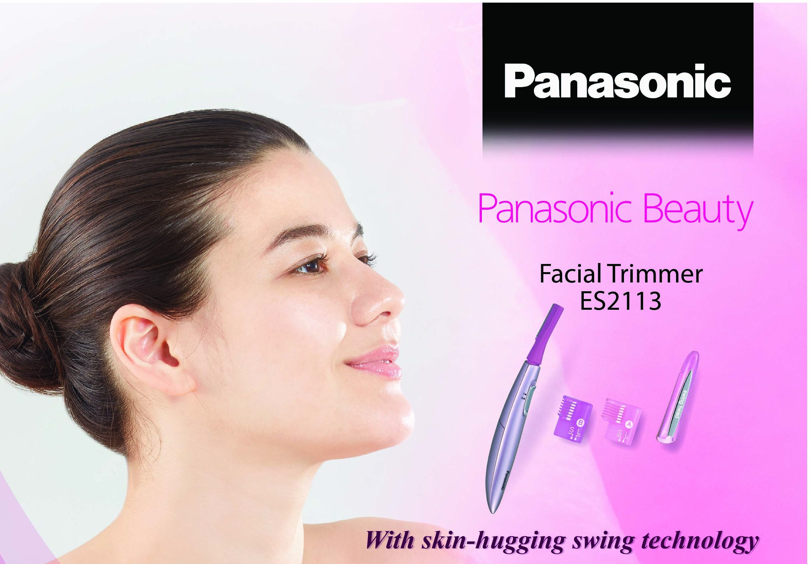 Manage And Contour Your Facial Hair With Panasonic Beauty Facial