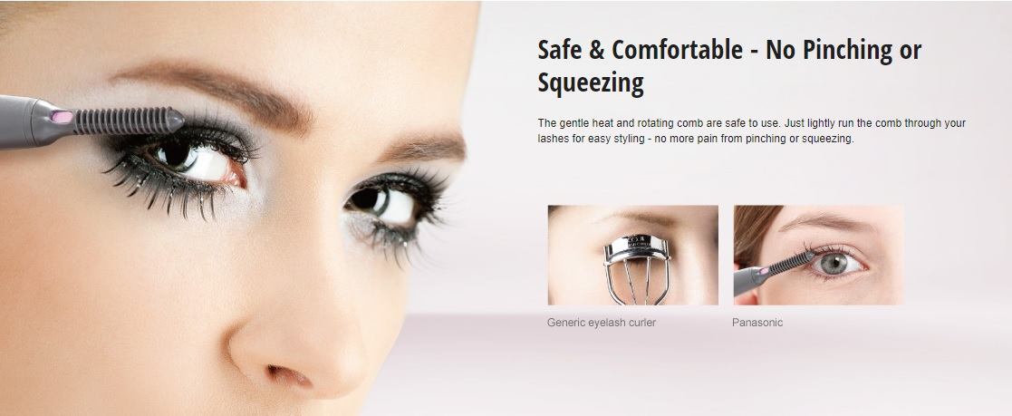 Panasonic Eyelash Curler Revolutionizing Natural And Long Lasting