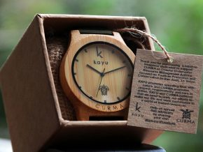 Kayu x CURMA: Sea Turtle Conservation Through Wooden Watches