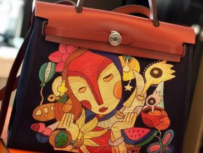 The Artologist Transforms Your Basic Handbags into Works of Art
