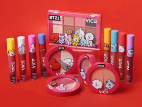 Vice Cosmetics' BT21 Collection Presents Vibrant and Playful Makeup