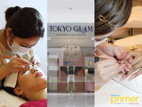 Tokyo GLAM at Ayala Malls Manila Bay: Chic Eyelash and Nail Salon for Full-On Pamper Session
