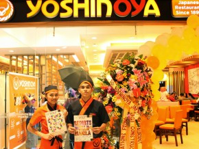 Yoshinoya Opens Its New Branch at Ayala Fairview Terraces