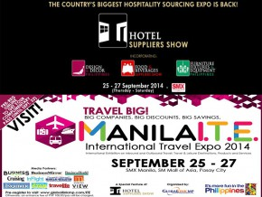 5th Hotel Suppliers Show & Manila International Travel Expo 2014