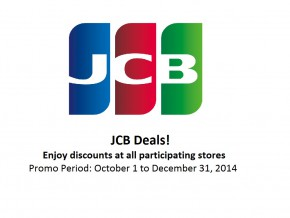 JCB Deals: Exclusive 10% – 20% discount to all JCB Card Members!
