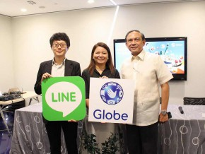 Globe partners with LINE for free int'l calls to Globe, TM for the holidays