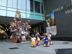 Ayala Museum's OpenSpace: Voltes V and the Martial Law Art-ified