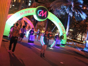 Color Manila Nite Run: Painting the Town Neon