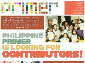 PHILIPPINE PRIMER IS LOOKING FOR CONTRIBUTORS!