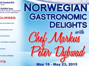 Norwegian Gastronomic Delights by Chef Markus Peter Dybwad