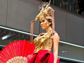Philippine Fashion Week 2015: Kaye Morales Releases Her Inner Warrior