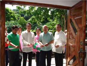TURNOVER OF JAPAN-FUNDED WOMEN'S TRAINING CENTER IN QUEZON, NUEVA VIZCAYA
