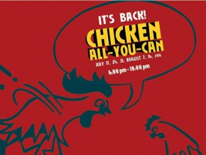 Max's Chicken All You Can is Back!
