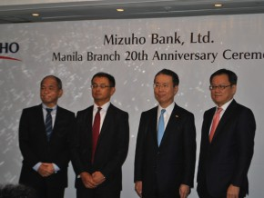 Mizuho Celebrates 20th Anniversary in the Philippines