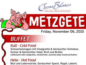 Experience 'Metzgete' at Chesa Bianca