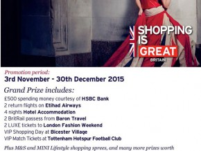 The Great British Shopping Raffle is Back!