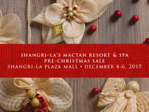 Shangri-la's Mactan Resort & Spa Cebu Brings the Rush to Manila