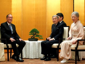 Emperor Akihito and Empress Michiko of Japan, to visit PH