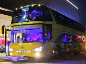 LTFRB holds dry run of double-decker buses in Manila