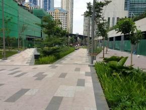 New park in BGC makes Burgos Circle more accessible