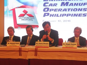 Mitsubishi Motors Corporation to invest P4.3B for CARS program