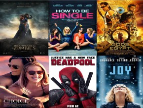 Popular Movie Premieres in February