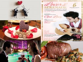 5 fancy restos where you can dine in on Valentine's Day
