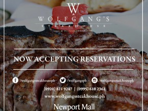 Wolfgang's Steakhouse set to open tomorrow