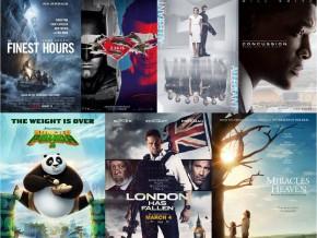 Popular Movie Premieres in March