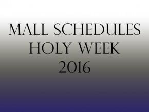 LIST: Holy Week 2016 Mall Hours