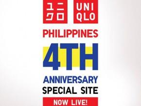 UNIQLO Philippines celebrates 4th Anniversary, opens special site