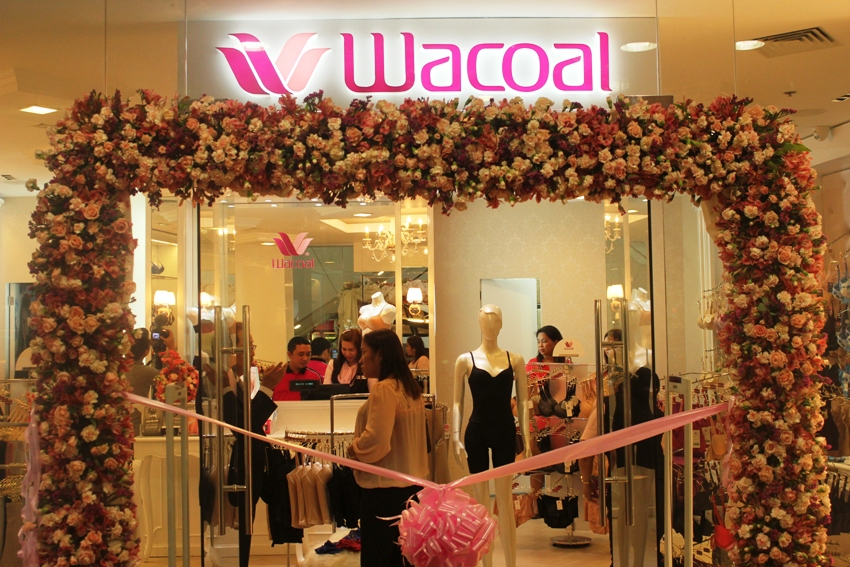 famous brand size 7 top-rated official Lingerie brand Wacoal opens in Manila! | Philippine Primer