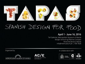 Gastronomy and design come together in TAPAS: Spanish Design for Food