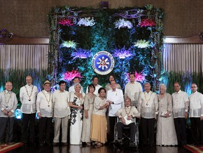 9 new National Artists, awarded by PH President Aquino
