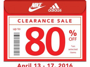 Enjoy BIG DISCOUNTS at the Sports Central Clearance Sale!