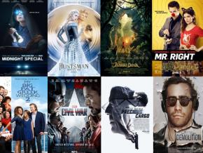 Popular Movie Premieres in April