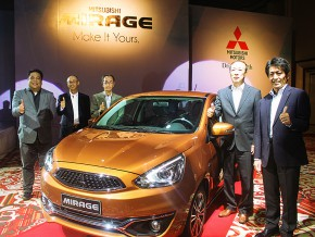 Mistubishi launches 2016 Mirage at Solaire Resort and Casino