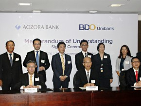 BDO signs MOU with Aozora Bank
