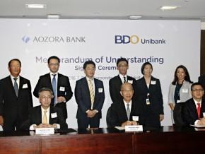 BDO signs MOU with Aozora Bank