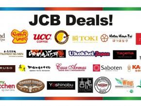 Reward yourself with JCB Deals!